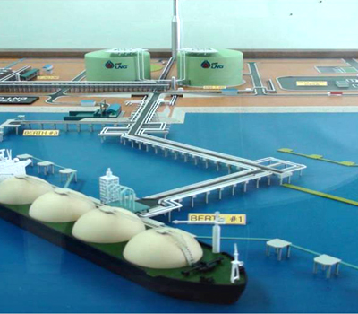 Thailand PTT LNG terminal project image