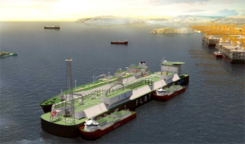 Floating LNG Bunkering Terminal design technology